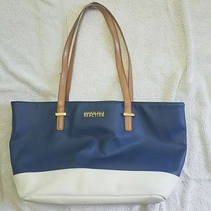 Kenneth Cole Reaction Purse Tote Blue KCPurse01